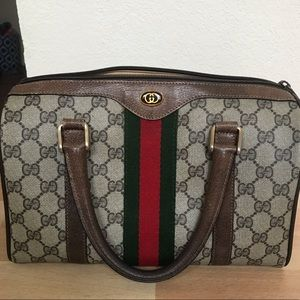 b2fca0054d9 Gucci Bags - Authentic Vintage Gucci Boston Doctor Bag